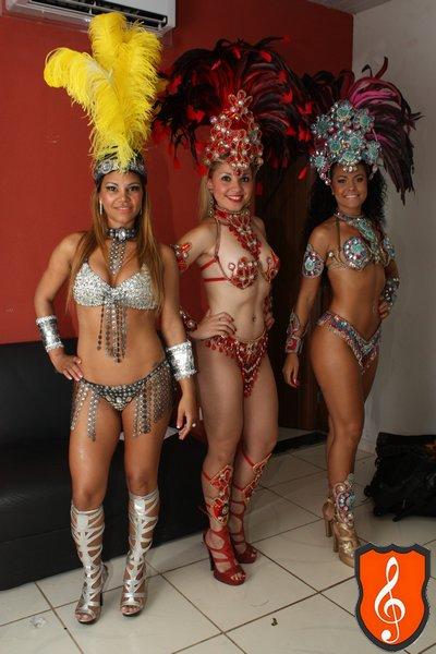 Ruizinha, Ariana e Nathany Piemonte