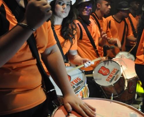Bateria em Festa de Casamento - Status Samba Show