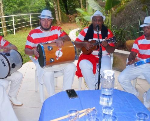 Roda de Samba em Festa de aniversario