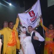 festa de casamento mestre sala e porta bandeira