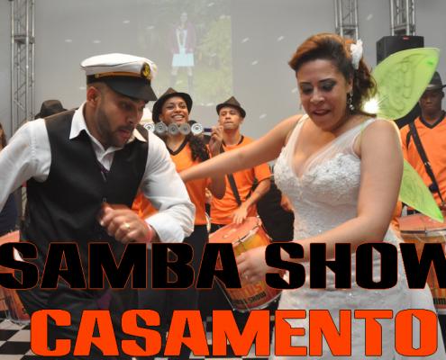 Video de samba Show em Casamento, Mariana e José