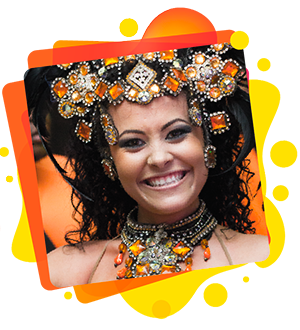 Mulata passista - Status Samba Show