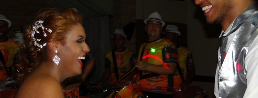 Alegria que o Samba Show proporciona