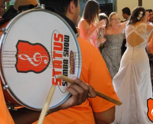 Festa de Casamento Thaisa e Rene - Caixa de Guerra