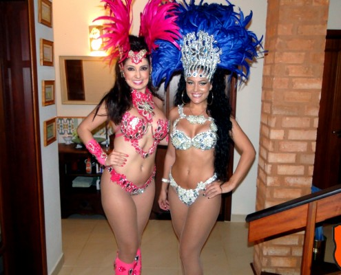 Passistas de Escola de Samba - Larissa e Nathany