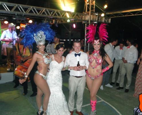 Noivos e Madrinhas - Show de Escola de Samba