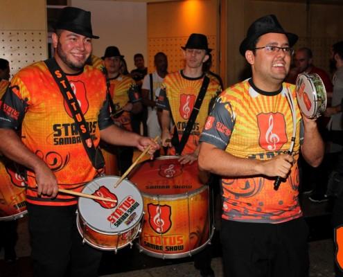 Gabriel Araujo e Isaias Andrade Ritmistas Status Samba Show