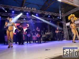 Samba Show com Bateria e Mulatas
