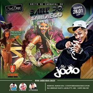 Baile do San Diego - Mc João e Status Samba Show