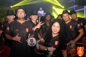 Ritmistas do Status Samba Show