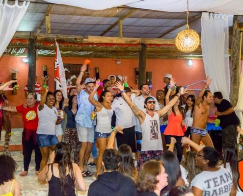Convidados ao ritmo de Samba