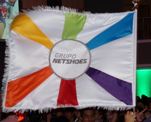 Bandeira Personalizada Evento Netshoes