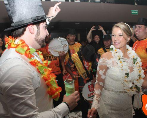 Rafael e Marcela - Casamento com Samba