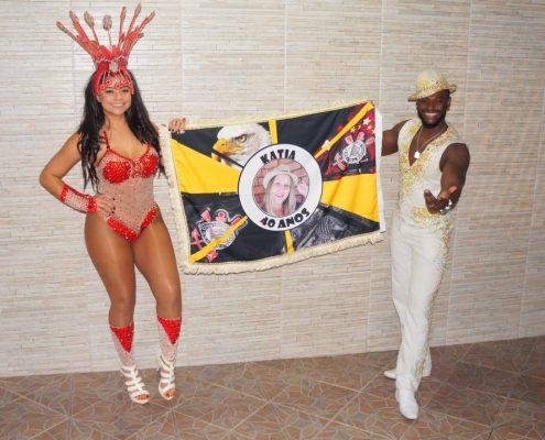 Bandeira Personalizada - Pavilhão - Mulata e Malandro