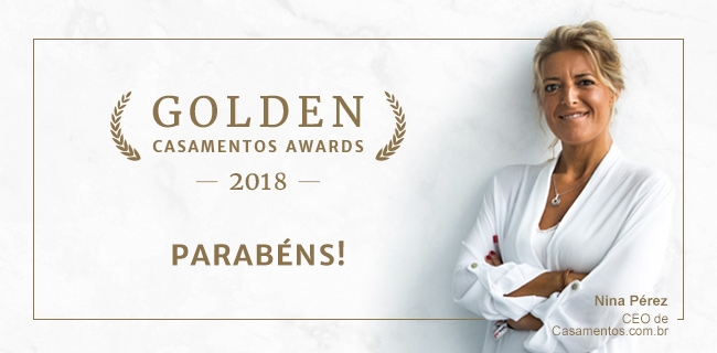 Golden Casamentos Awards 2018