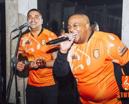 Bruno Carvalho e Murilo Couto em festa de debutante